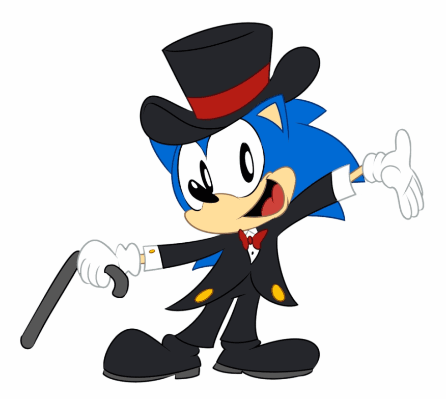 Free Sonic clipart