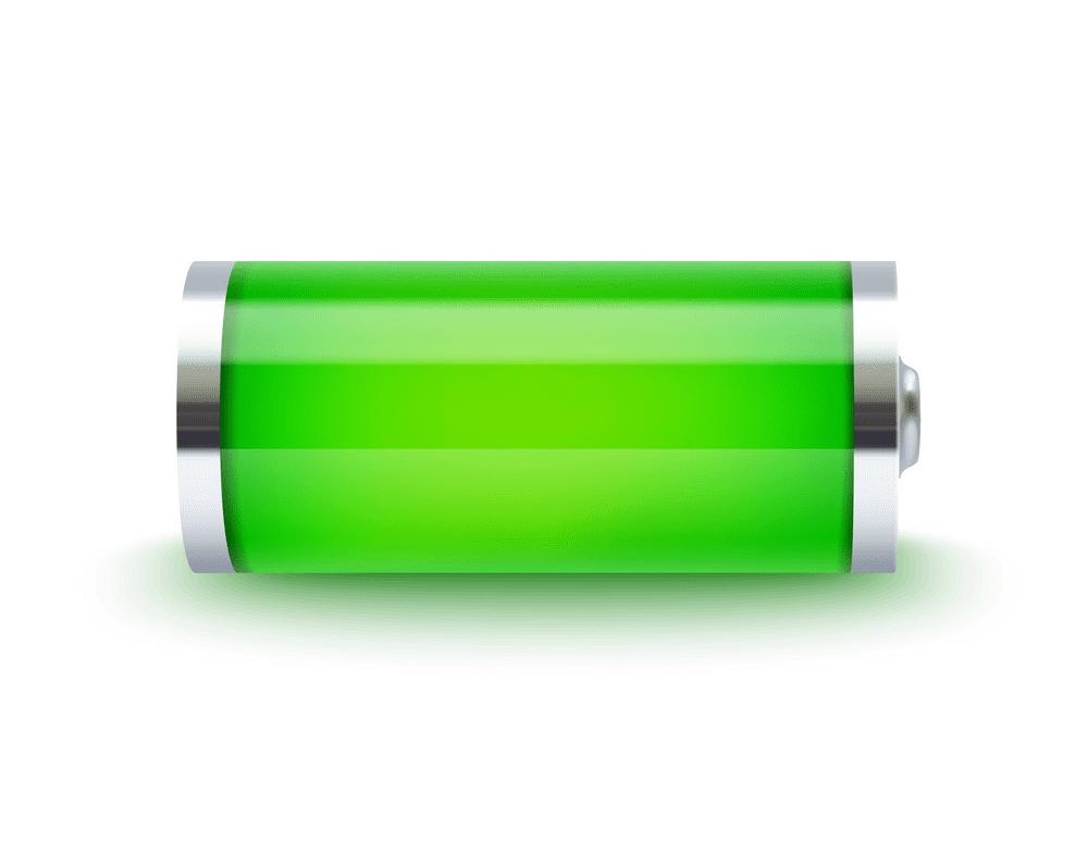 Full Battery clipart for free