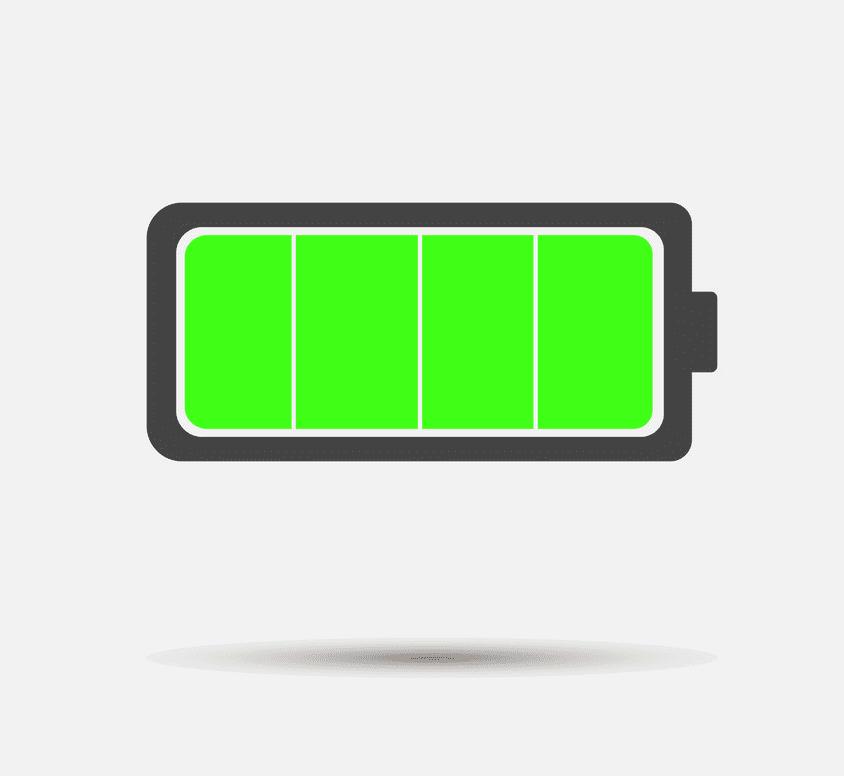 Full Battery clipart free