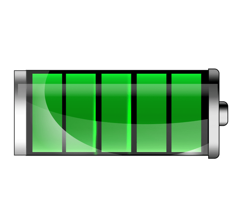 Full Battery clipart picture