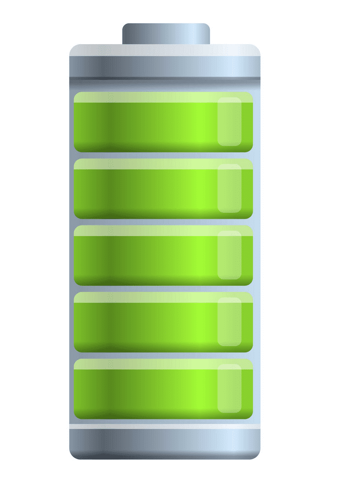 Full Battery clipart png