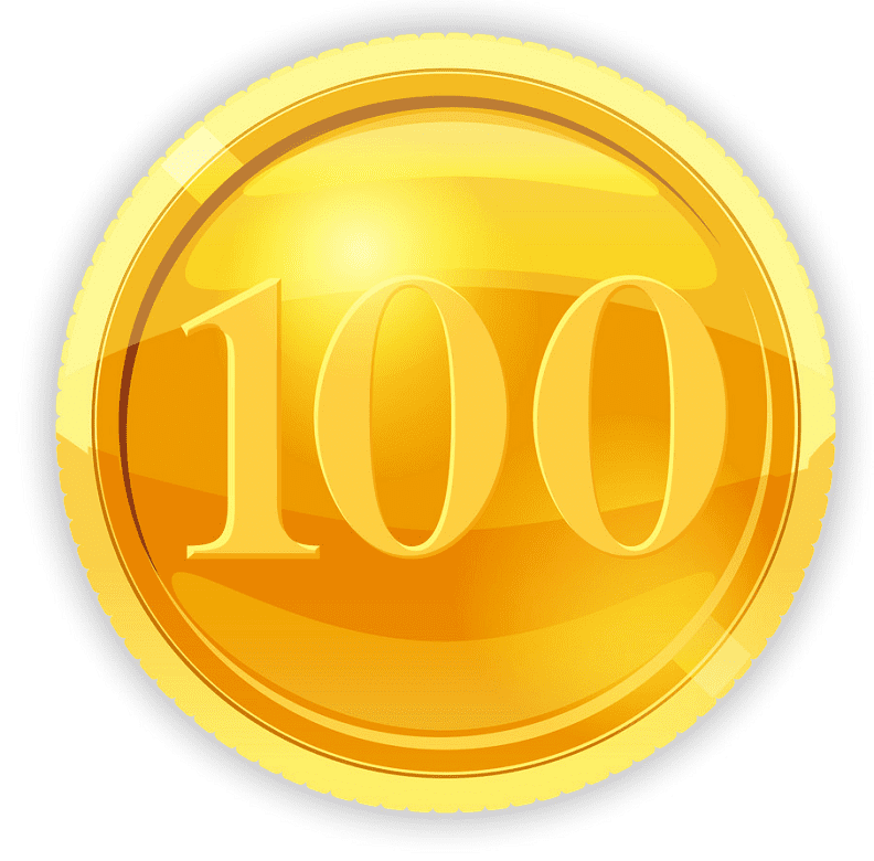 Gold Coin clipart free images