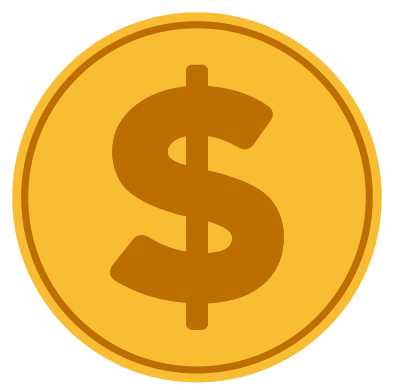 Gold Coin clipart image