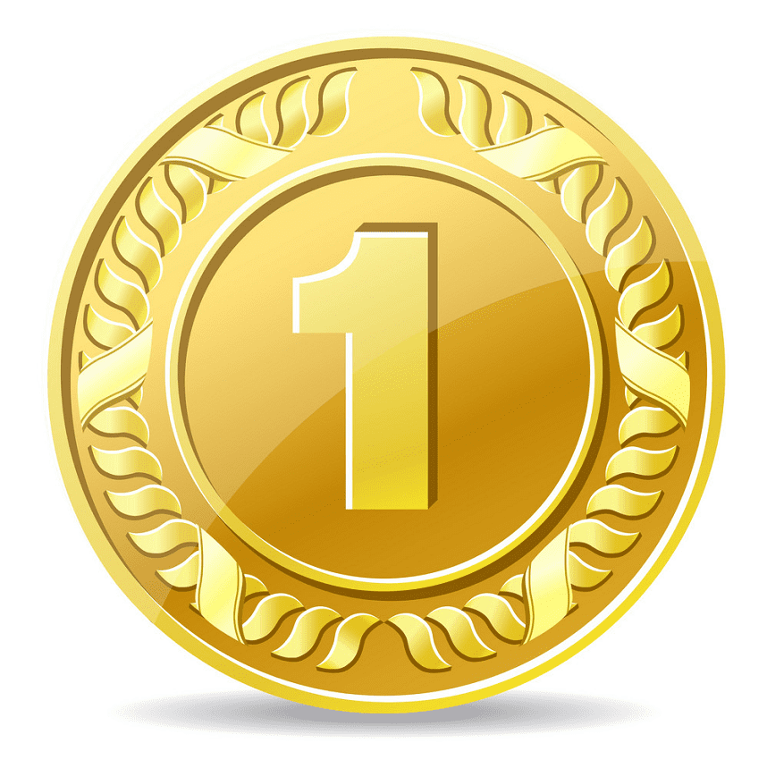 Gold Coin clipart images