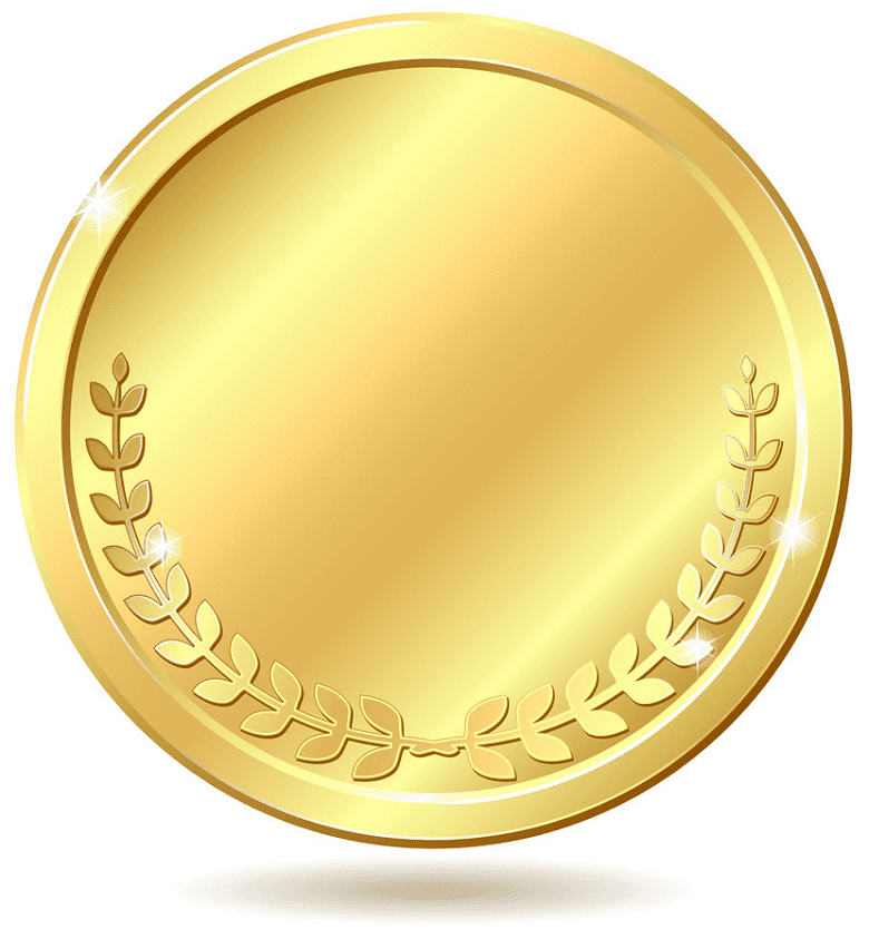 Gold Coin clipart picture