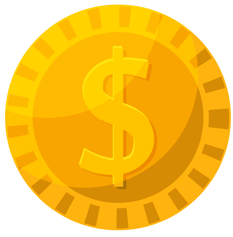 Gold Coin clipart png picture