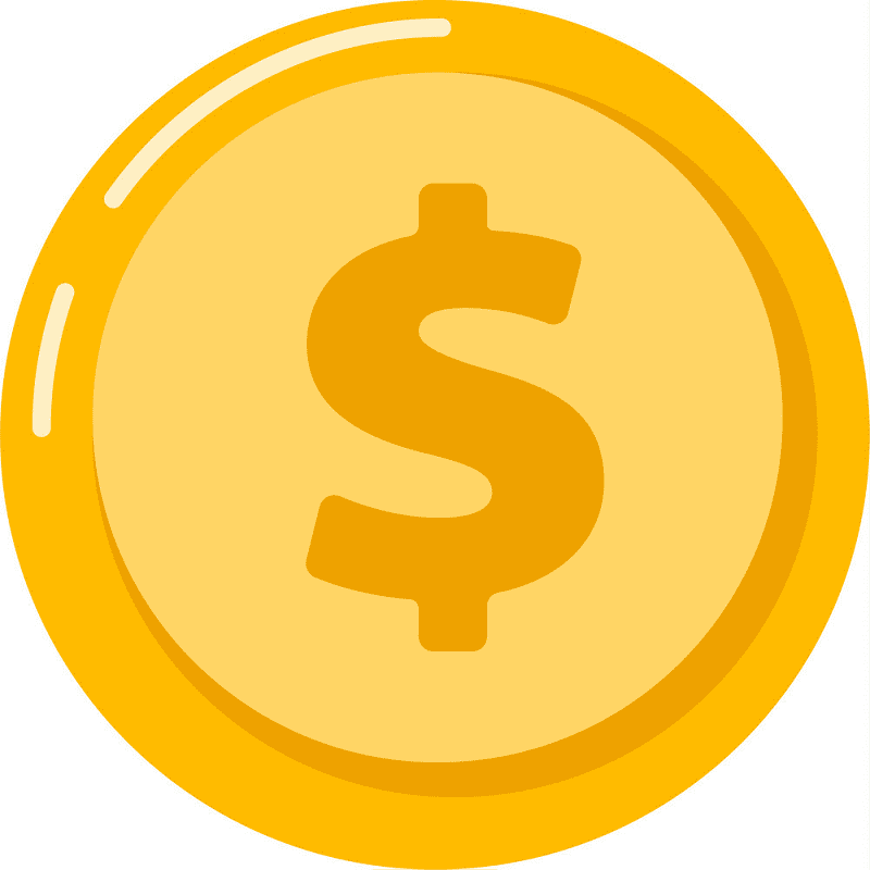 Gold Coin clipart png
