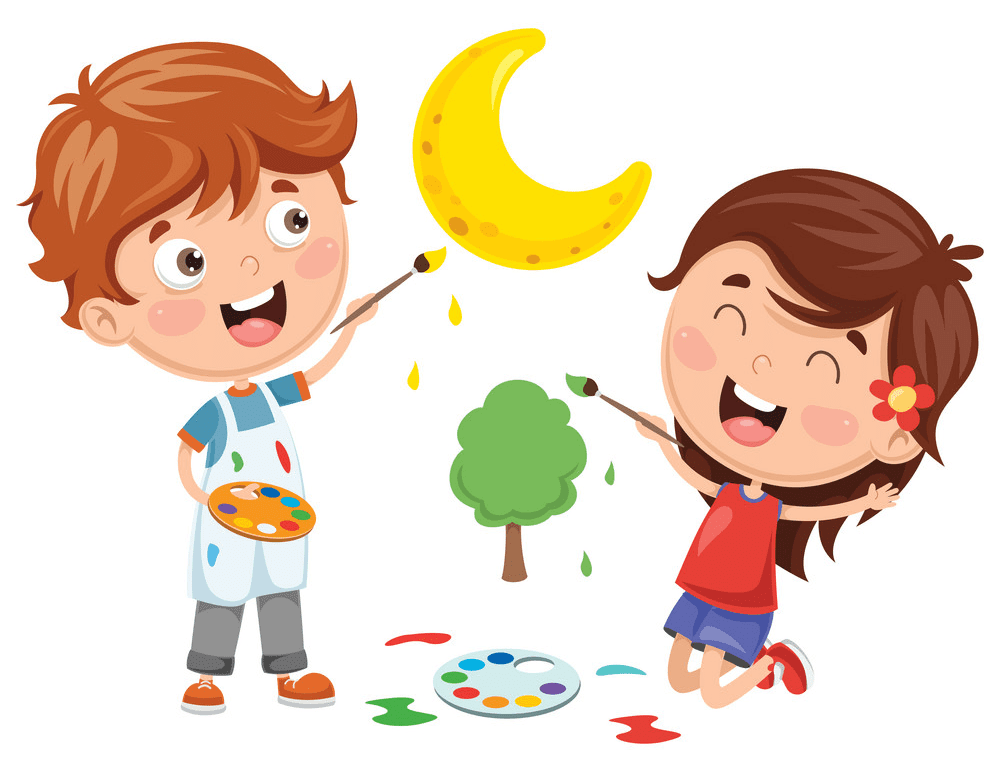 Kid Artist clipart for free