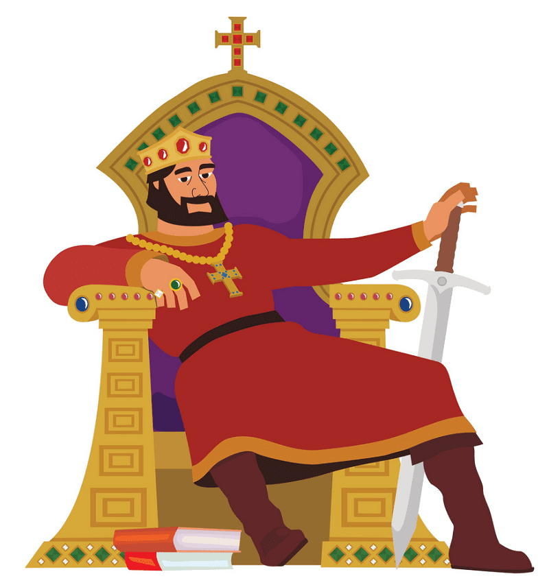 King clipart for kid