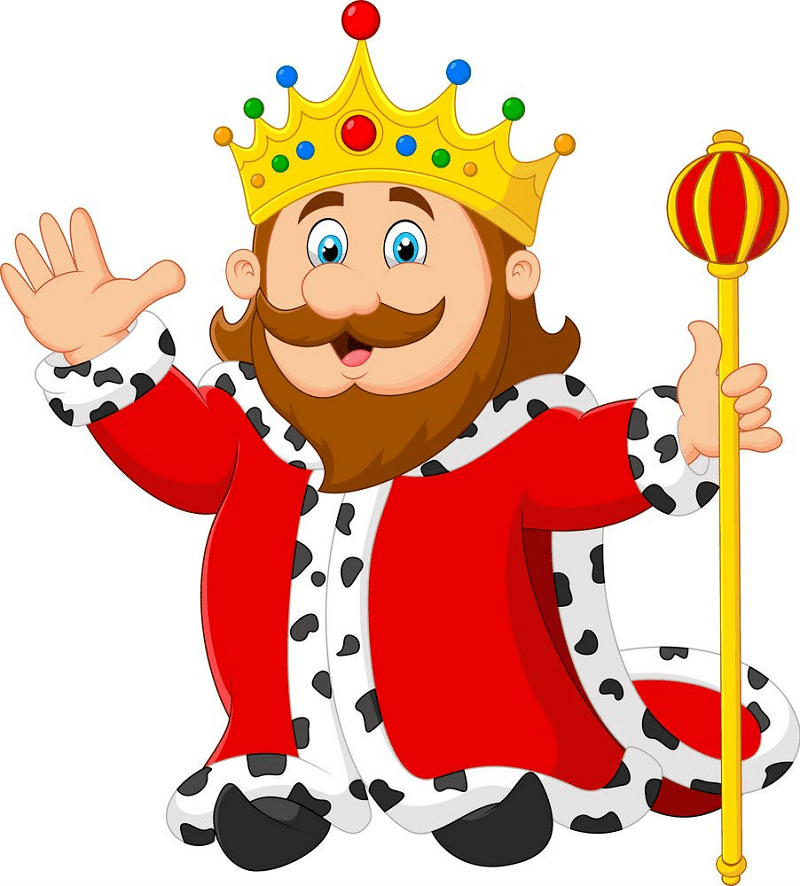 King clipart for kids