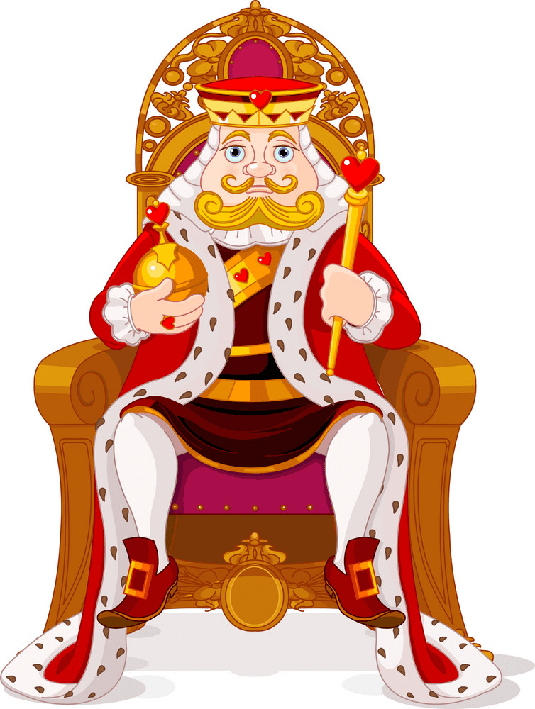 King clipart free 7