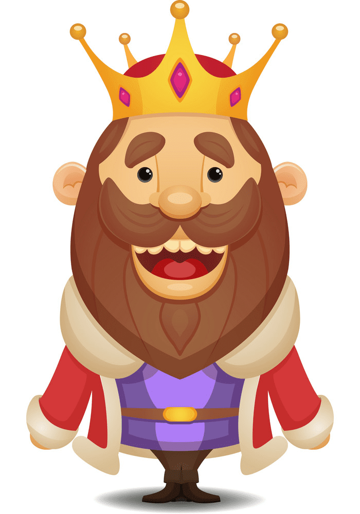 King clipart free 8