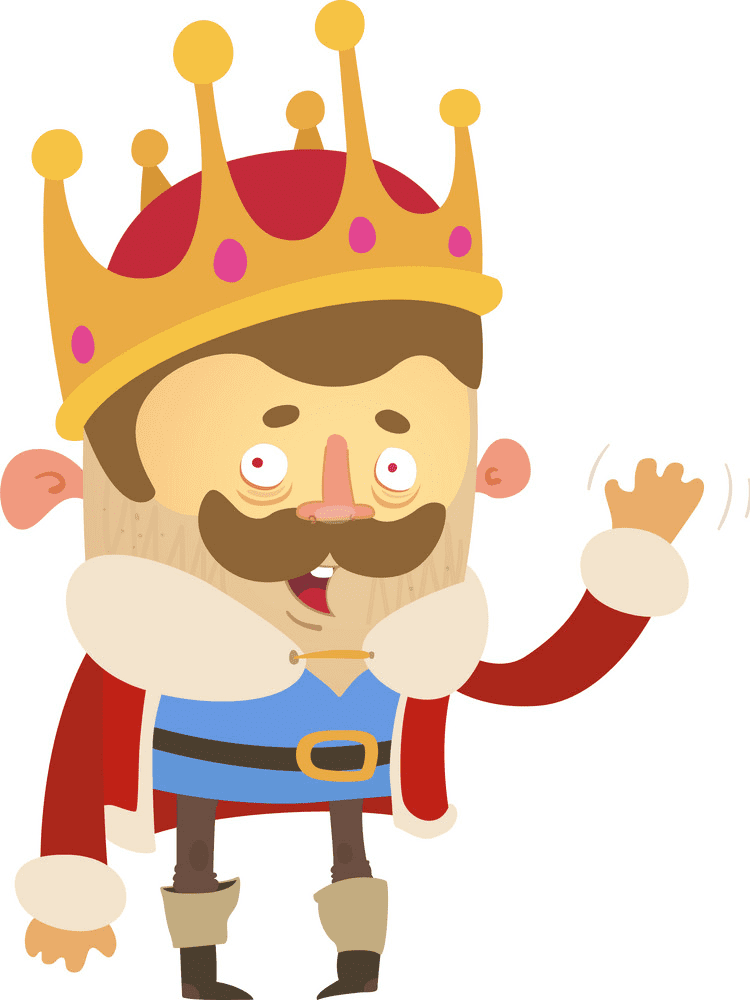 King clipart free 9
