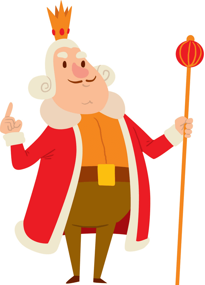 King clipart free picture