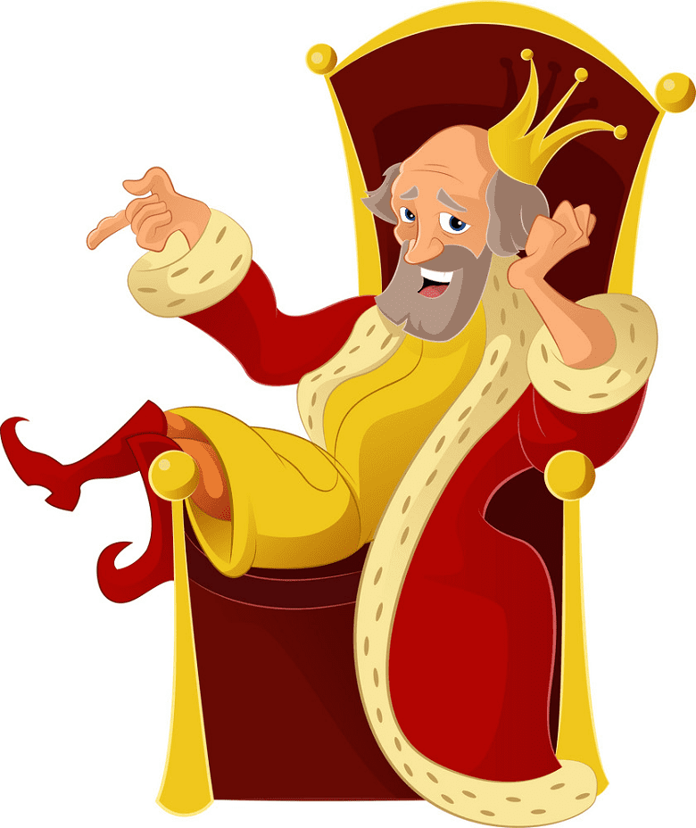 King clipart image