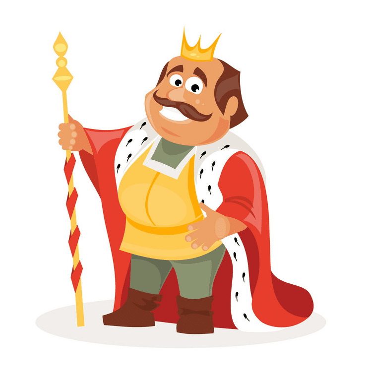 King clipart picture