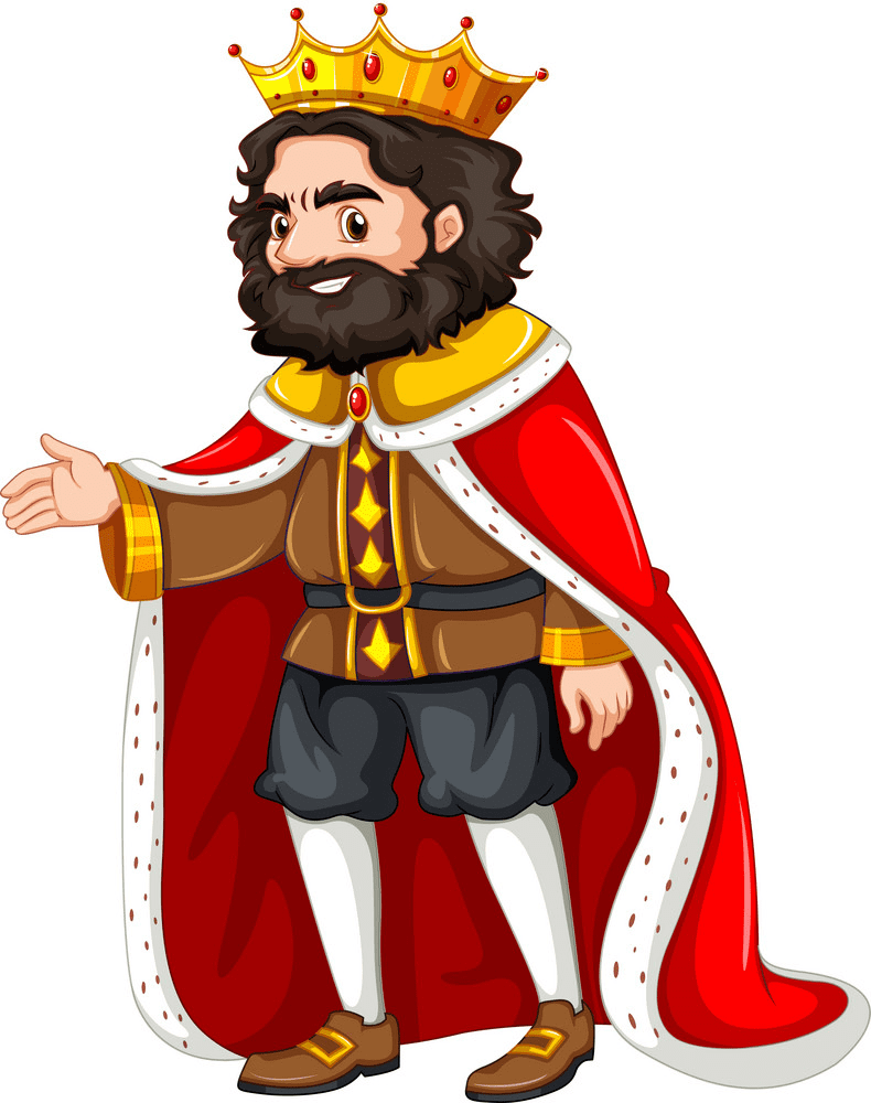 King clipart png