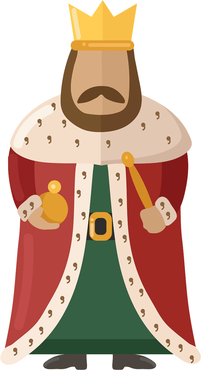 King clipart transparent for free