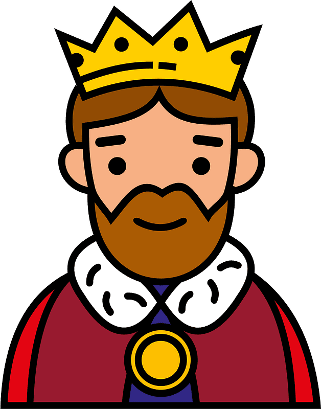 King clipart transparent free
