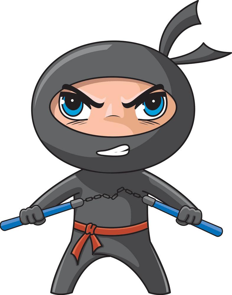 Little Ninja clipart