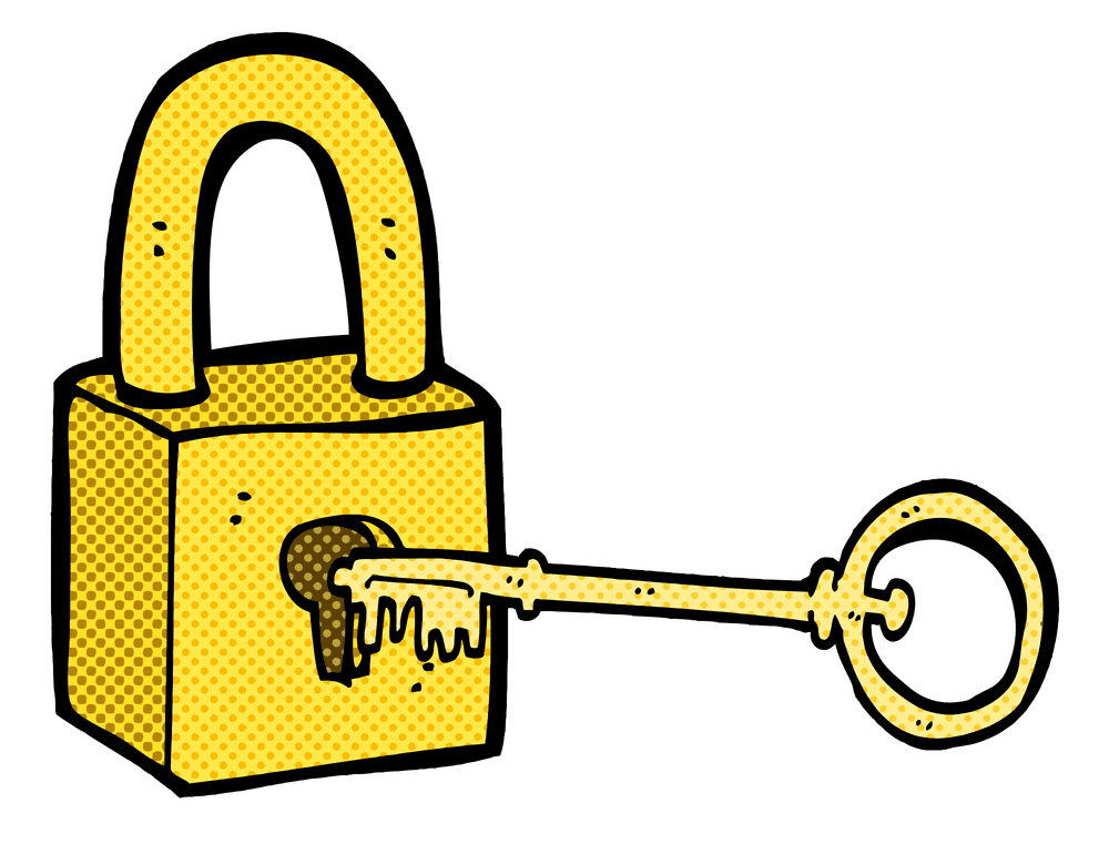 Lock and Key clipart images