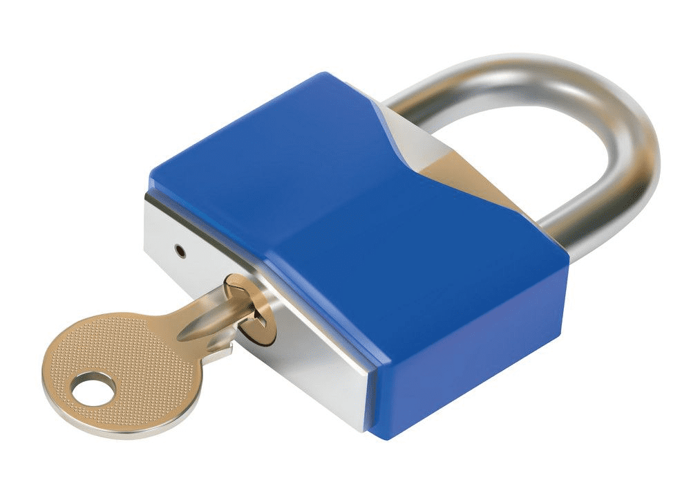 Lock and Key clipart png for kid