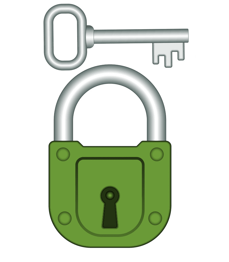 Lock and Key clipart png images