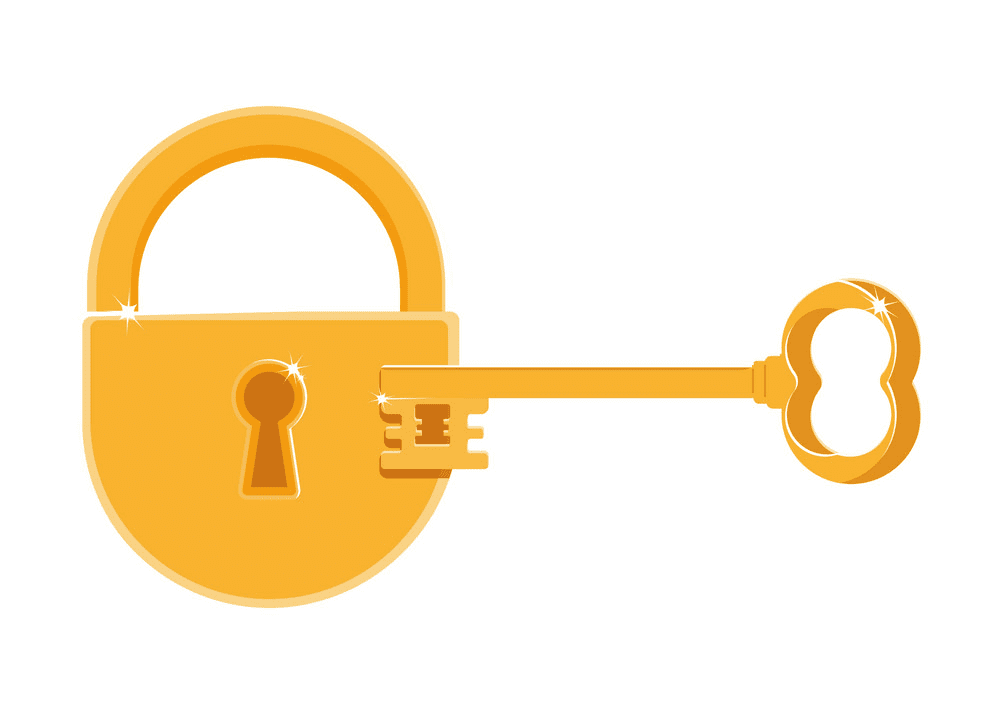 Lock and Key clipart