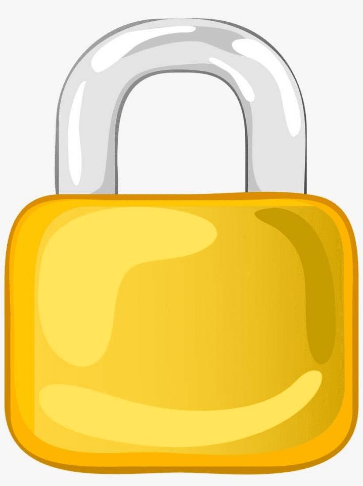 Lock clipart 2