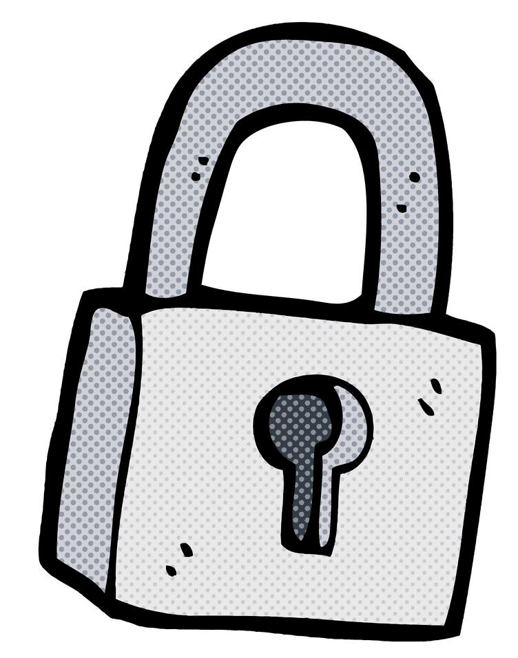 Lock clipart 5