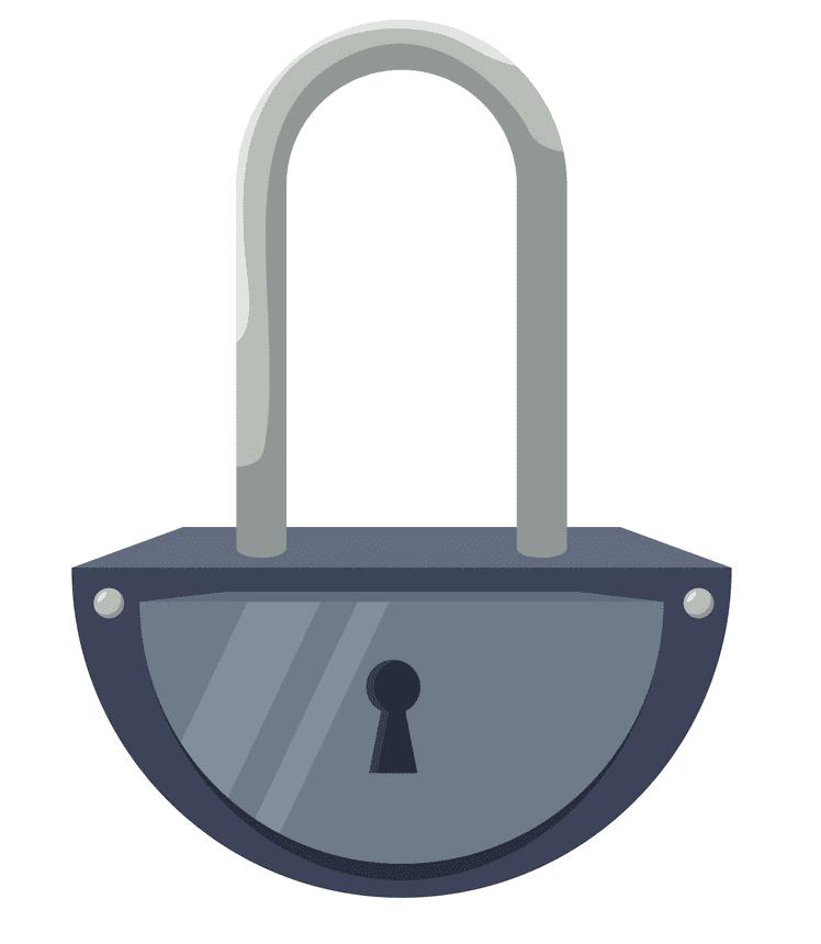 Lock clipart 6