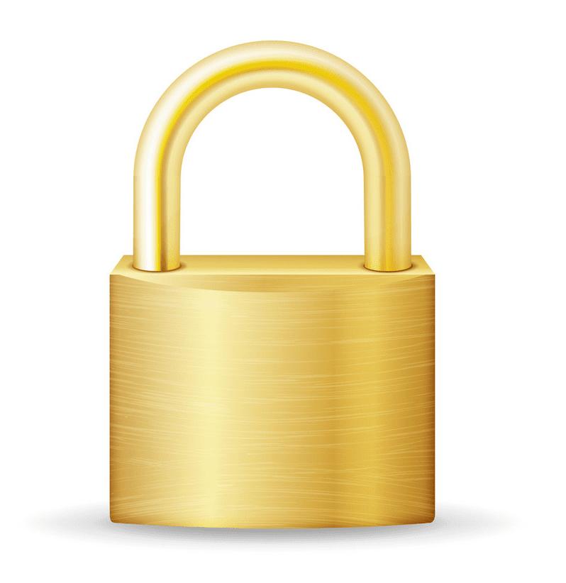 Lock clipart free image