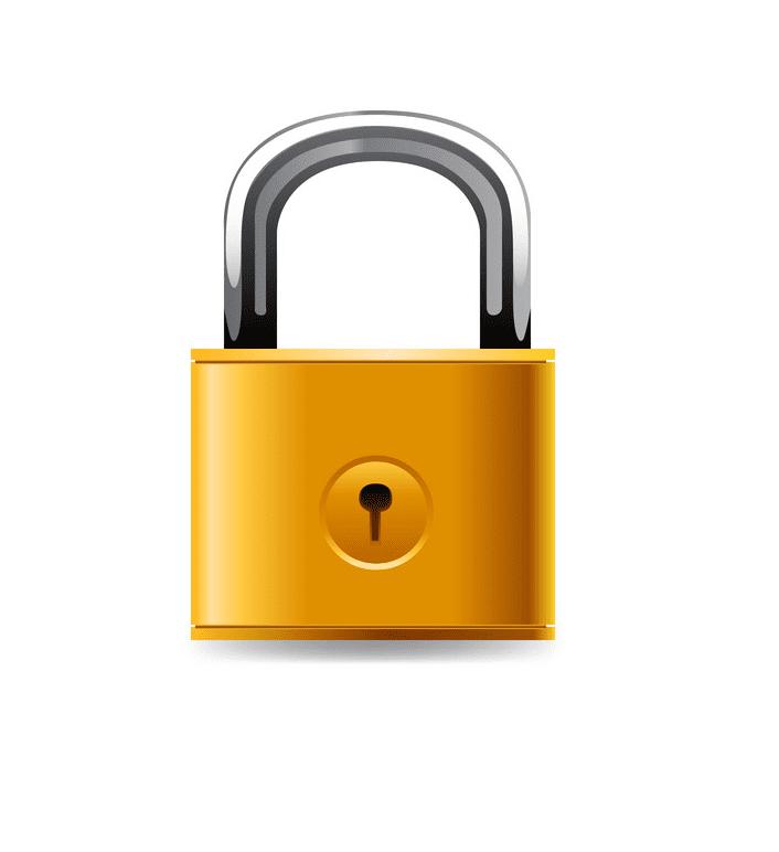Lock clipart free