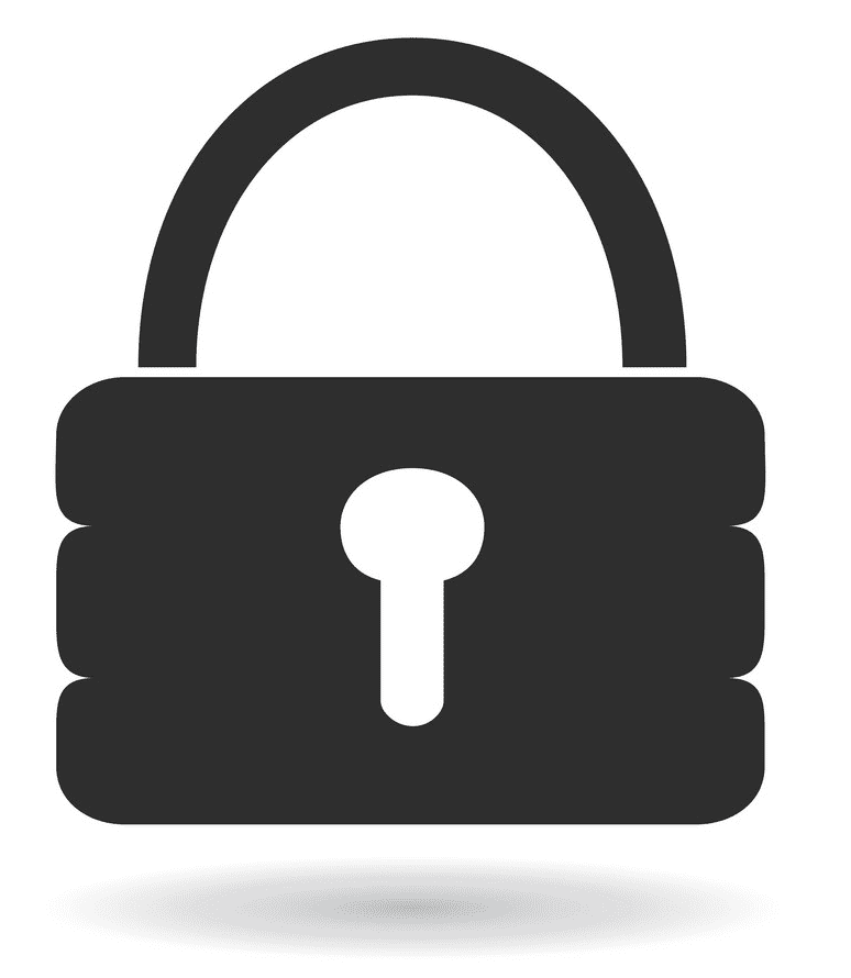 Lock clipart picture