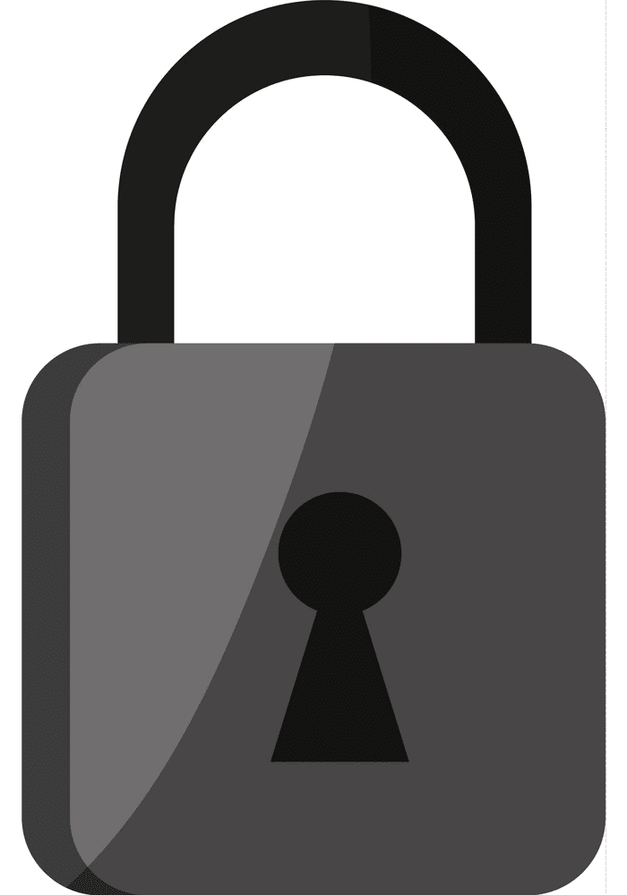 Lock clipart png free