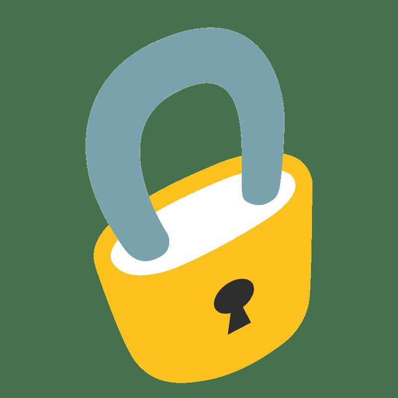Lock clipart transparent 1