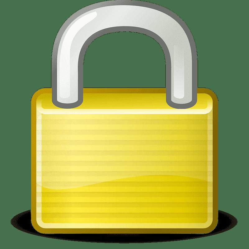 Lock clipart transparent 10