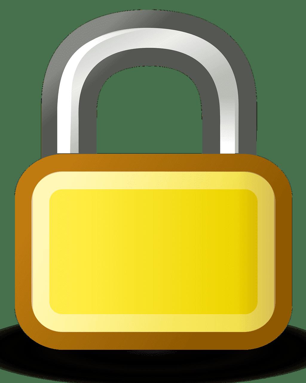 Lock clipart transparent 11