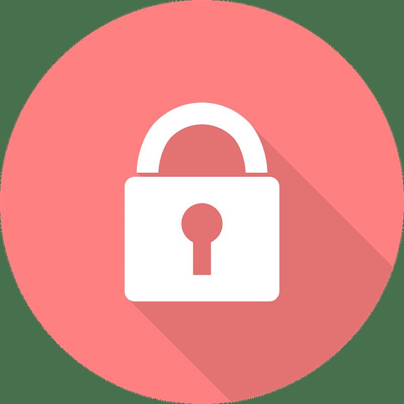 Lock clipart transparent 13