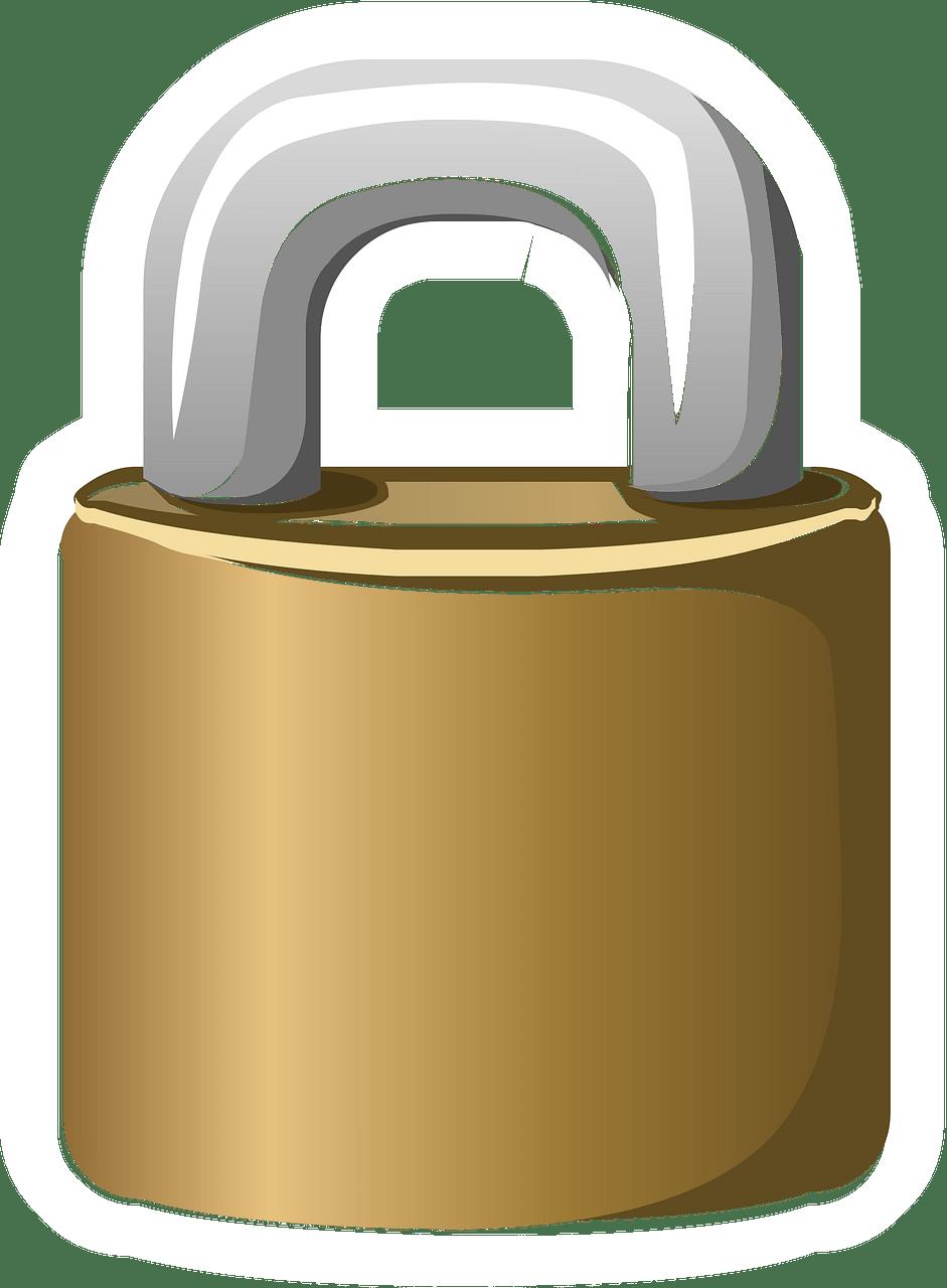 Lock clipart transparent 14