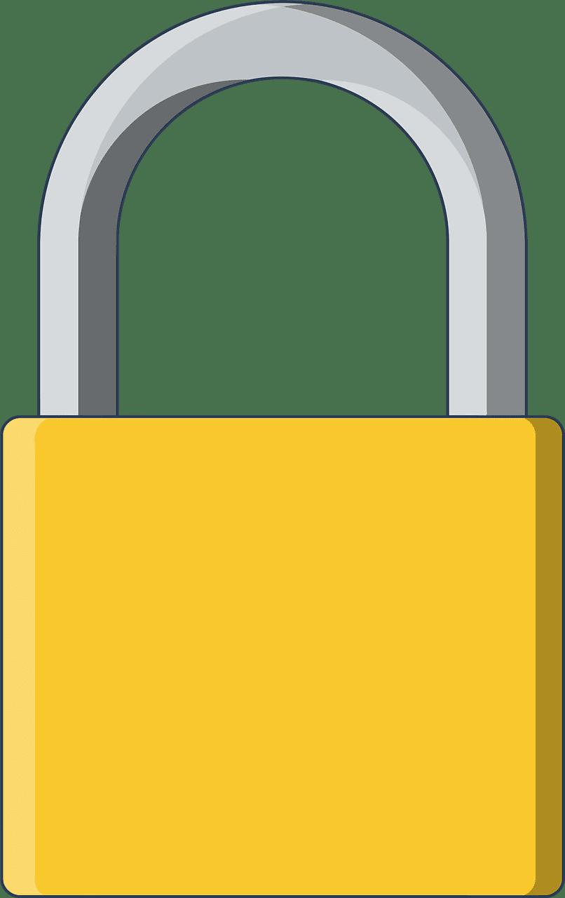 Lock clipart transparent 15