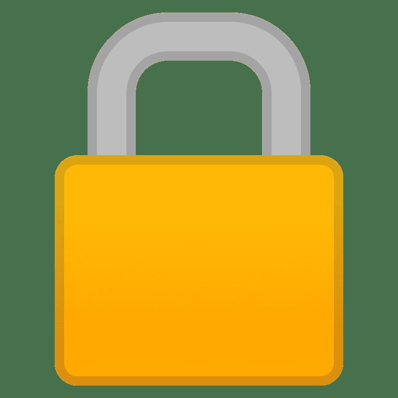 Lock clipart transparent 2