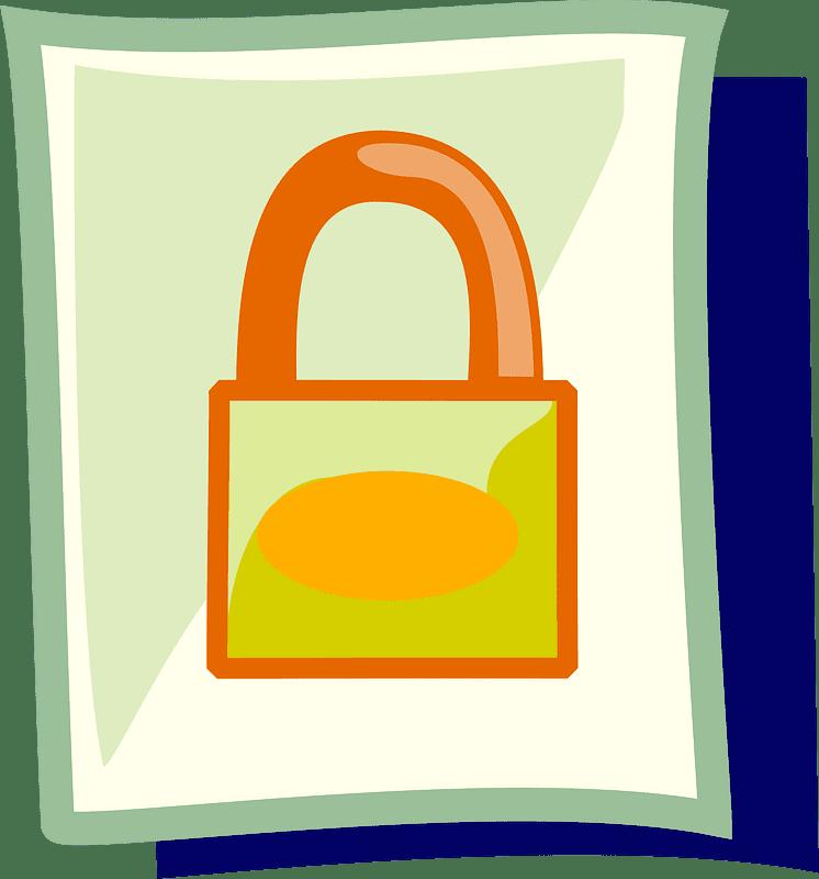 Lock clipart transparent 4