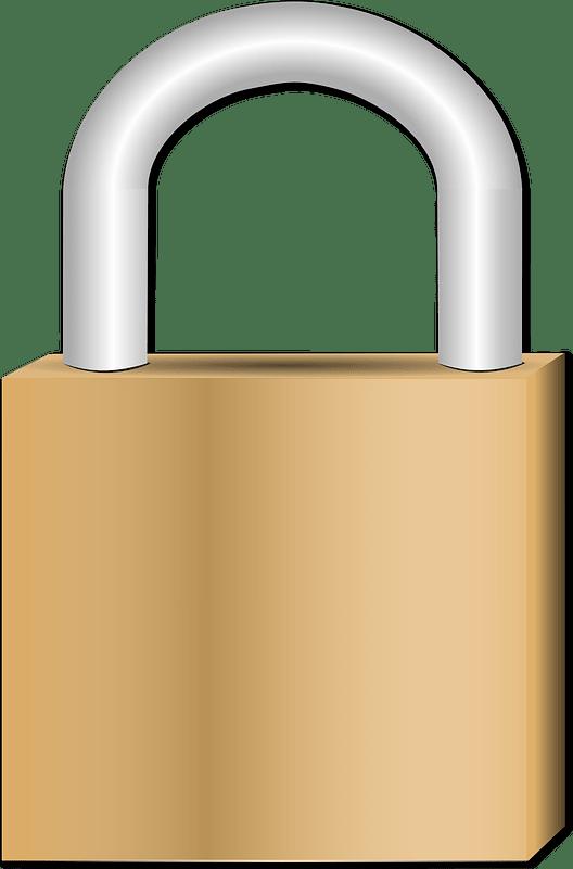 Lock clipart transparent 5