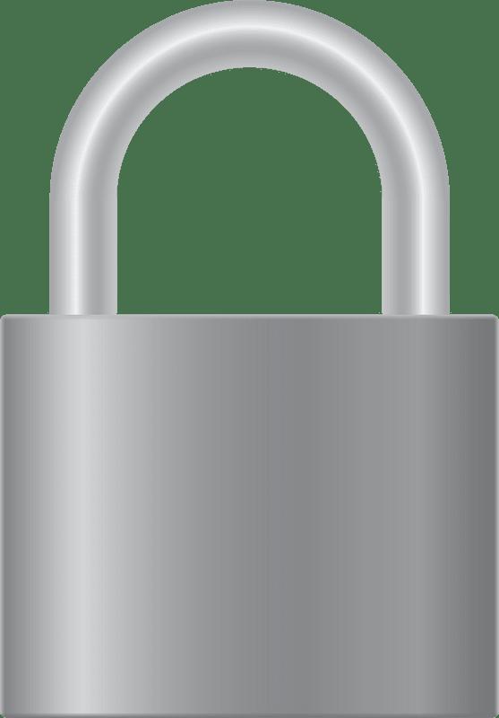 Lock clipart transparent 6