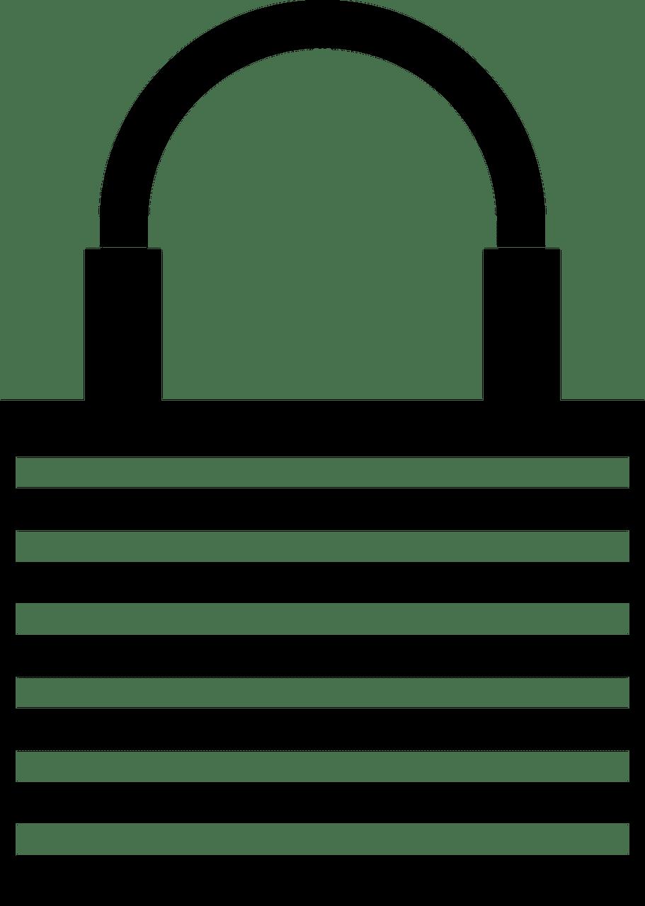 Lock clipart transparent 7