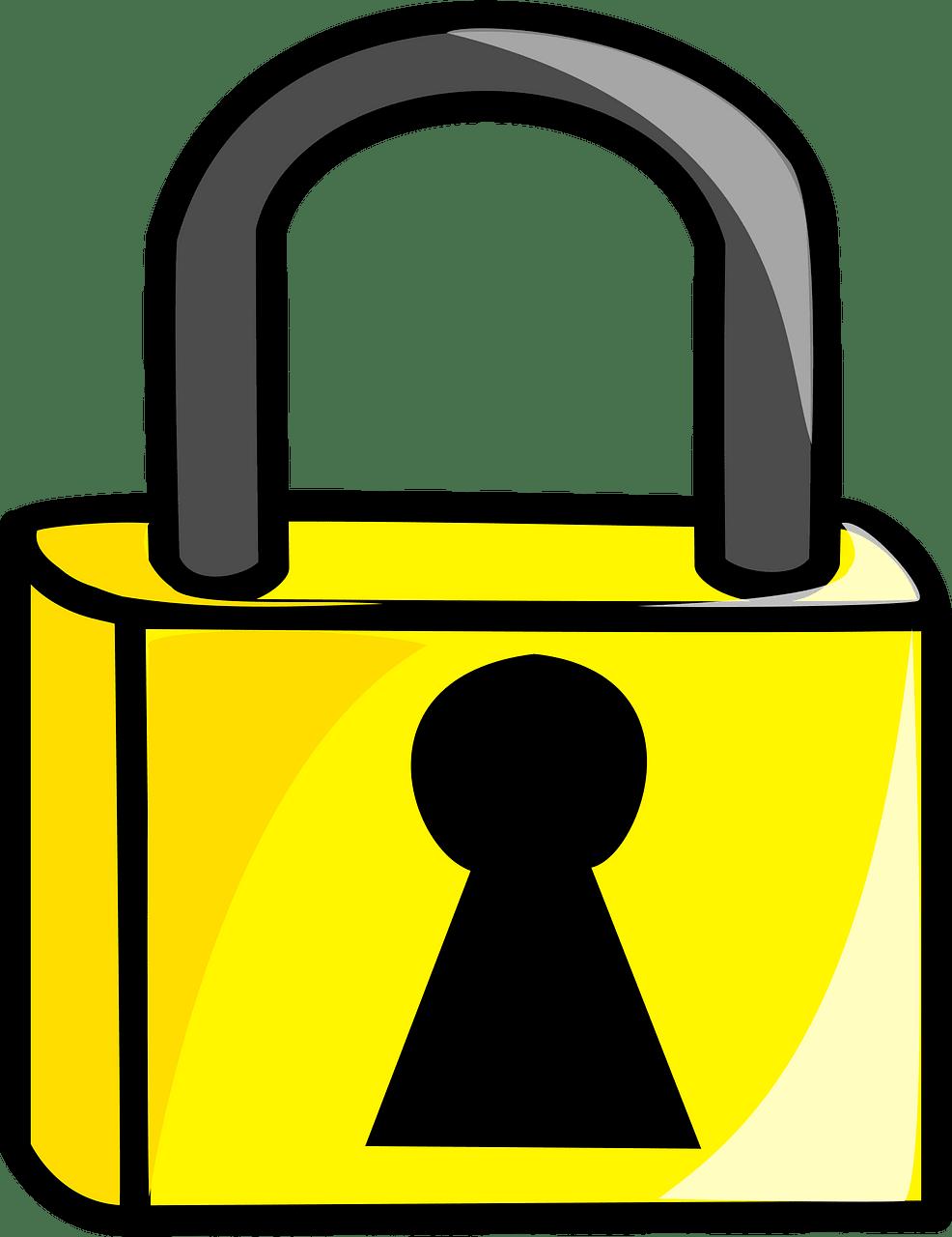 Lock clipart transparent 8