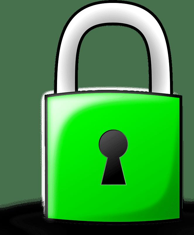 Lock clipart transparent 9