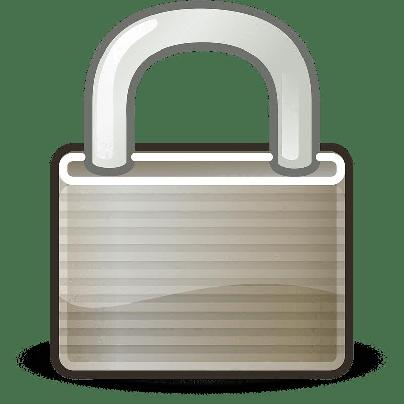 Lock clipart transparent background 2
