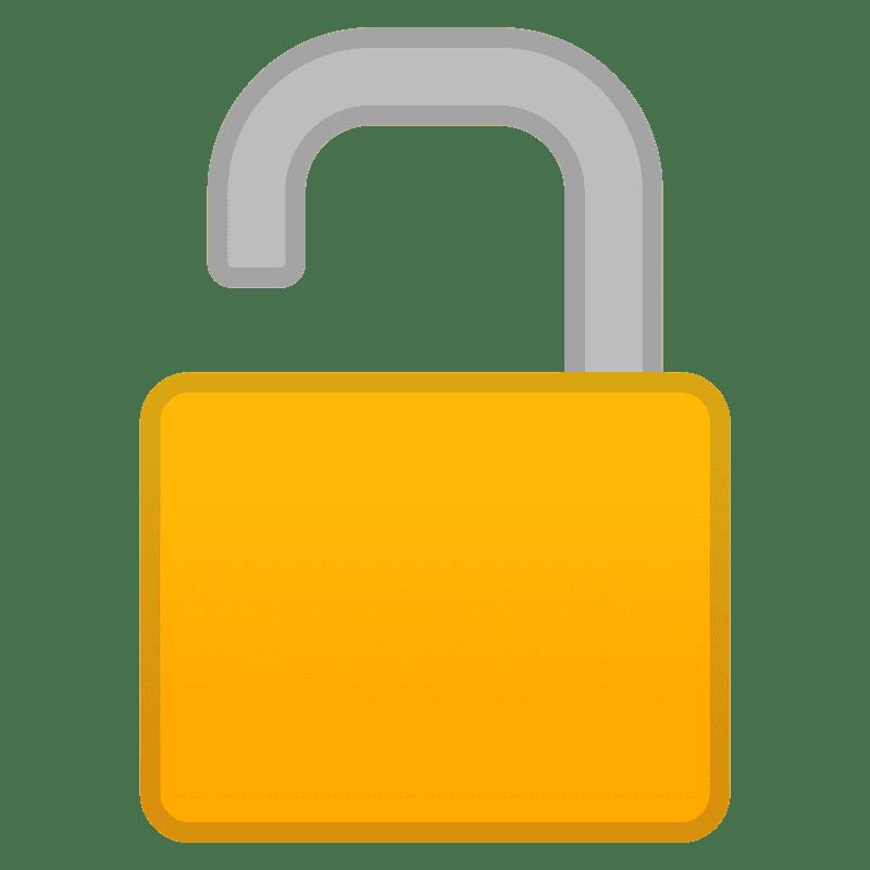 Lock clipart transparent background 9